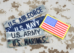 US military badges
