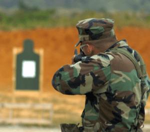 Soldier at Camp Hansen