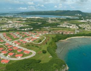 Guam Military Base Birds Eye View