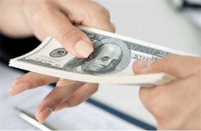 money from fraud exchanges hands