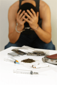 soldier caught with drugs