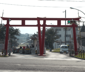 Torii Station Entrance