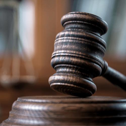 Judges military gavel