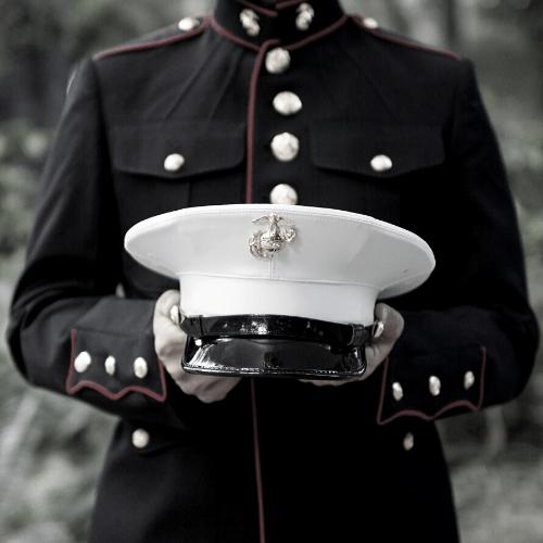 An officer in uniform