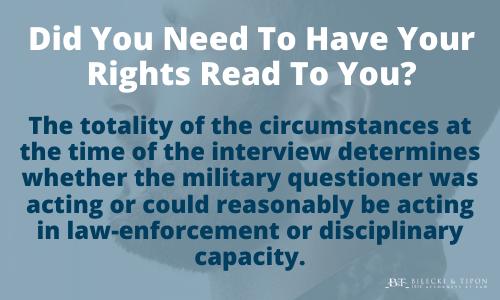 Military rights illustration