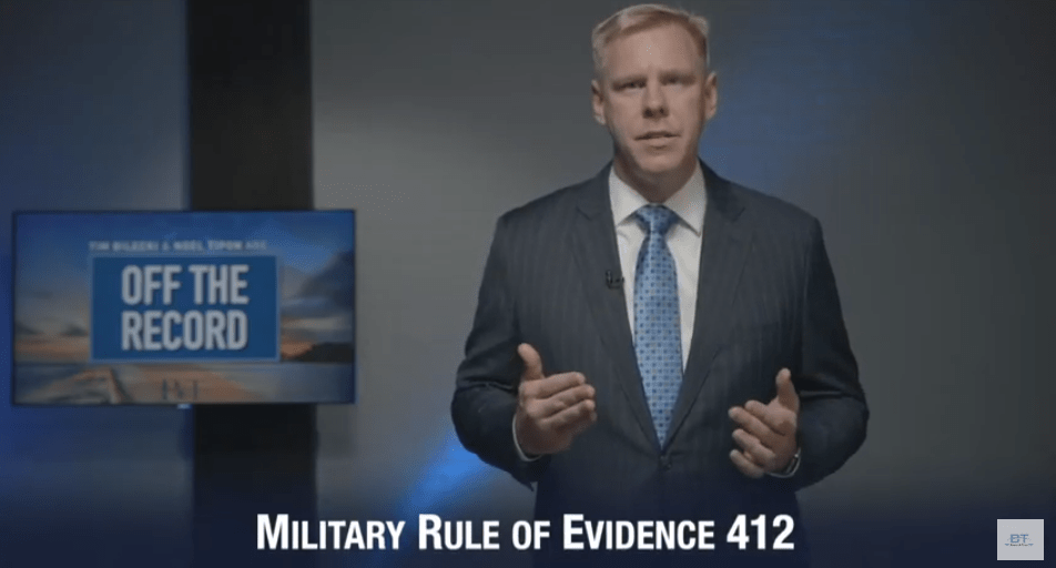 Military Rule of Evidence 412 Video Screenshot