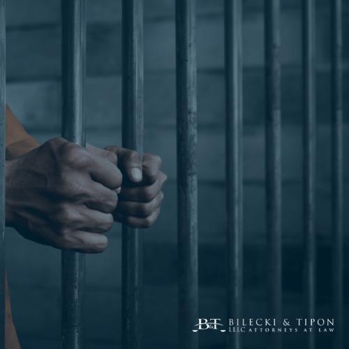 A soldier in prison