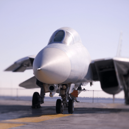 A military aircraft