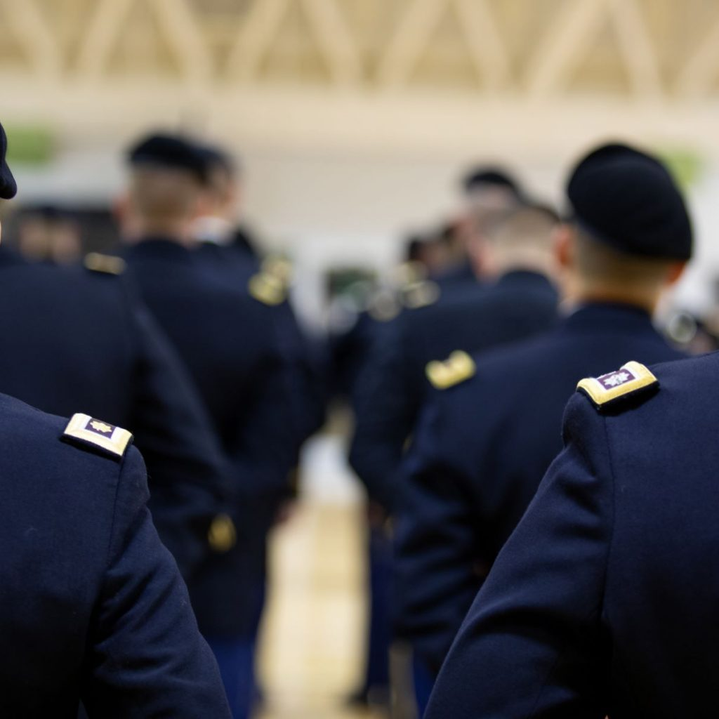 Fort Knox in-ranks inspection 1800